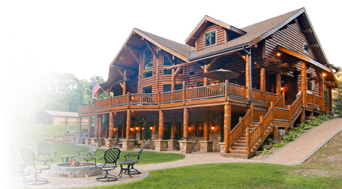 Log Home Exterior Maintenance | Log Building Maintenance and Restoration, Milton PA